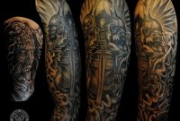 Sleeve Tattoos Fresh 2016 Tattoos Ideas Warrior Sleeve Tattoo pertaining to measurements 1024 X 837