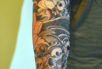 Sun Sleeve Tattoos Cool Tattoos Bonbaden Half Moon And Stars throughout proportions 895 X 1347
