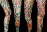 Tattoo Sleeve Oni Tikki Koi Asia 1 Art Of Paint for size 1024 X 1024