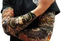 Tattoo Sleeve Sun Uv Protection Stretch Arm Cover Cycling Driving pertaining to size 1000 X 890