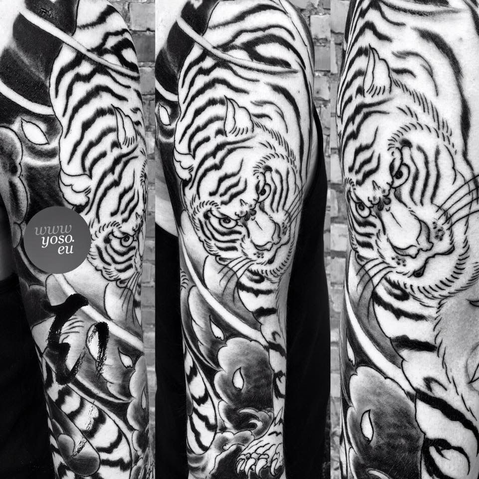 Tiger Tattoo Sleeve Tokyo Japanese Tattoo Custom Japanese Tattoo in proportions 960 X 960