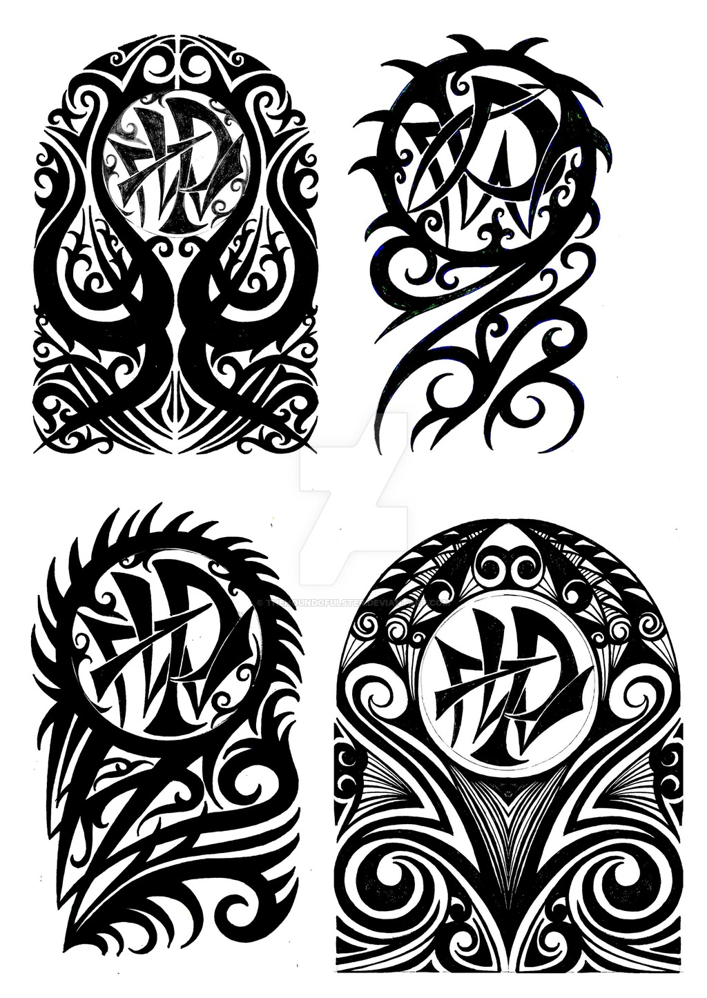 Half Sleeve Tribal Tattoos Drawings Half Sleeve Tattoo Site