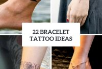 22 Bracelet Tattoo Ideas For Women Styleoholic with regard to measurements 775 X 1096