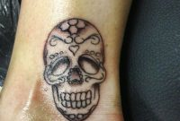 28 Nice Skull Tattoos On Ankle for size 768 X 1024