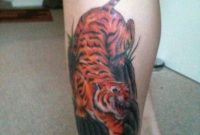 40 Clean Tiger Tattoos For Leg intended for measurements 768 X 1024
