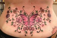 89 Lovely Flower Tattoos On Lower Back throughout proportions 1024 X 768