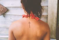 Back Cross Tattoo Tattoos Picture Tattoos Tattoos Back Cross throughout sizing 1766 X 2208