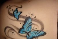 Blue Butterfly Tattoo Designs Tats Butterfly Tattoos Images pertaining to sizing 1200 X 1600