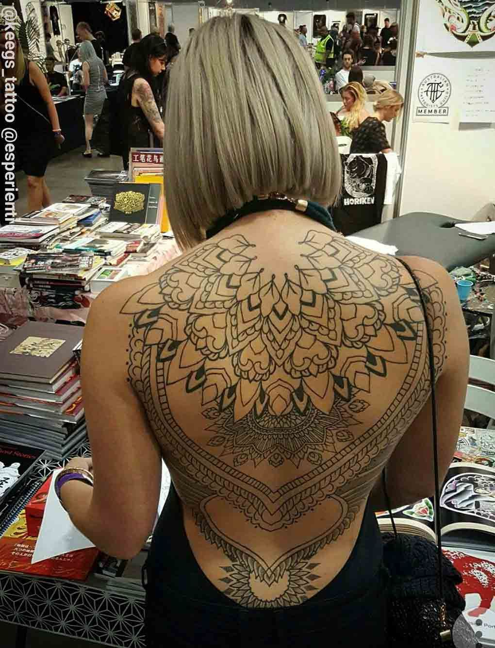 Female Back Tattoo Tattoos Back Tattoo Women Tattoos Full Back for dimensions 1020 X 1335
