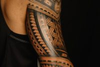 Full Back Sleeve Cool Samoan Polynesian Tribal Tattoo Golfian intended for sizing 1066 X 1503