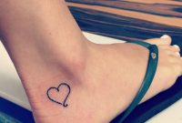 Small Heart Ankle Tattoo Tattoo Ideas Ankle Tattoo Designs intended for dimensions 2448 X 2448
