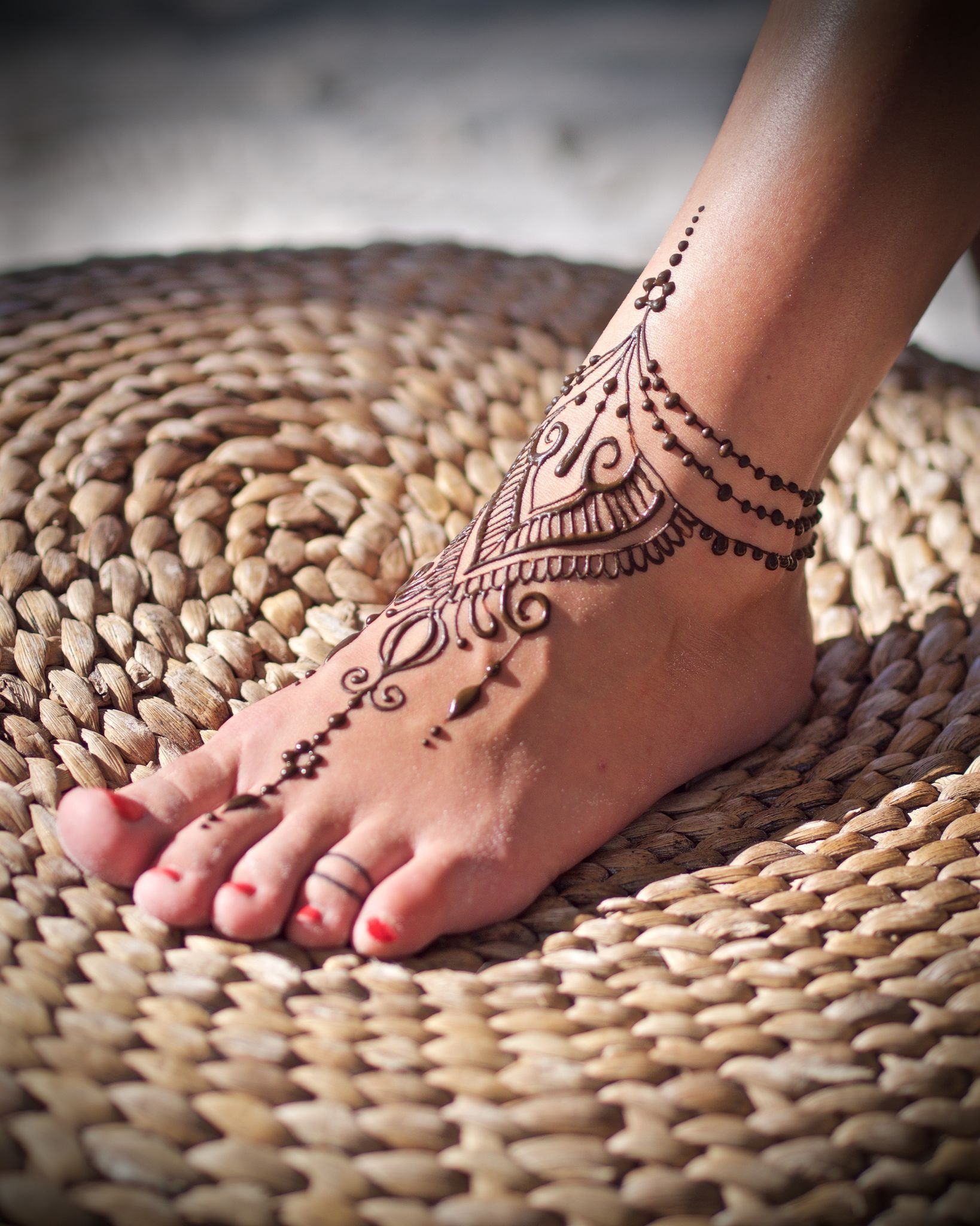Thai Foot Tattoos Henna Foot Henna Henna Tattoo Designs pertaining to dimensions 1638 X 2048