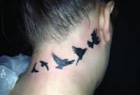 25 Nice Birds Tattoos On Neck with size 1024 X 768