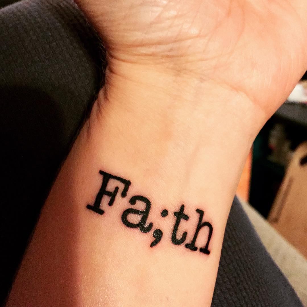 30 Amazing Faith Love Hope Tattoo Designs Meanings 2019 for dimensions 1080 X 1080