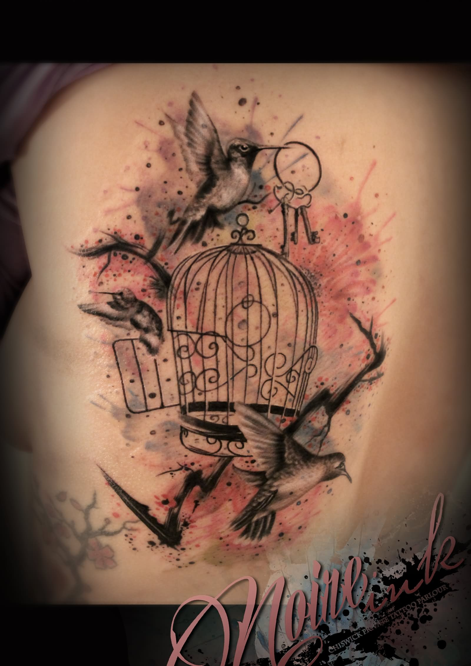 45 Best Cage Tattoos pertaining to measurements 1600 X 2263