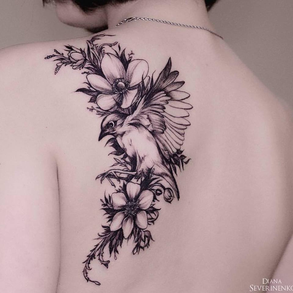 55 Cool Bird Tattoo Ideas That Are Truly In Vogue for sizing 960 X 960