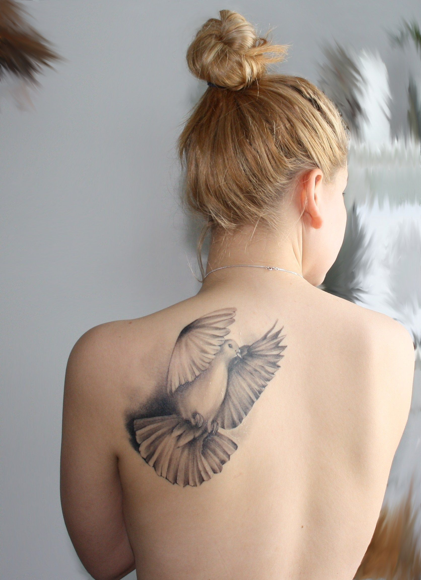 Back Bird Tusch Coole Tattoos Tattoo Designs Tattoos Frauen throughout dimensions 1671 X 2299