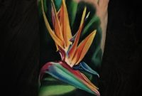 Bird Of Paradise Flower Foot Tattoo Best Tattoo Design Ideas for dimensions 970 X 898