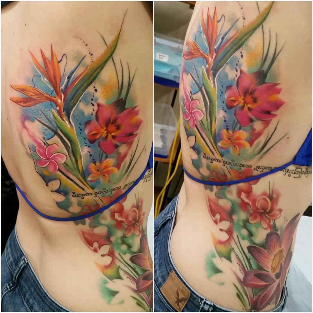 Bird Of Paradise Tattoo Flower Tattoos pertaining to sizing 1080 X 1080