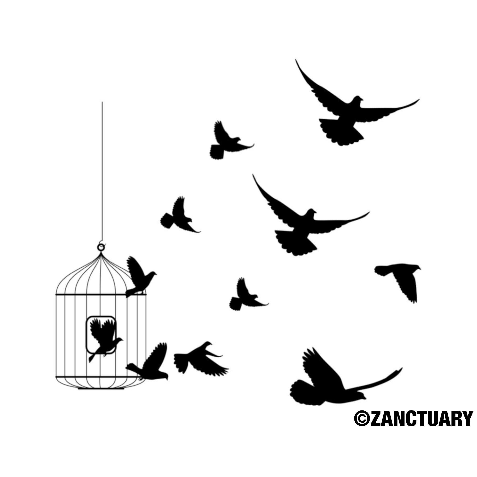 Bird Temporary Tattoo Bird Tattoo Flying Bird Tattoo Free Bird Etsy in size 2000 X 2000
