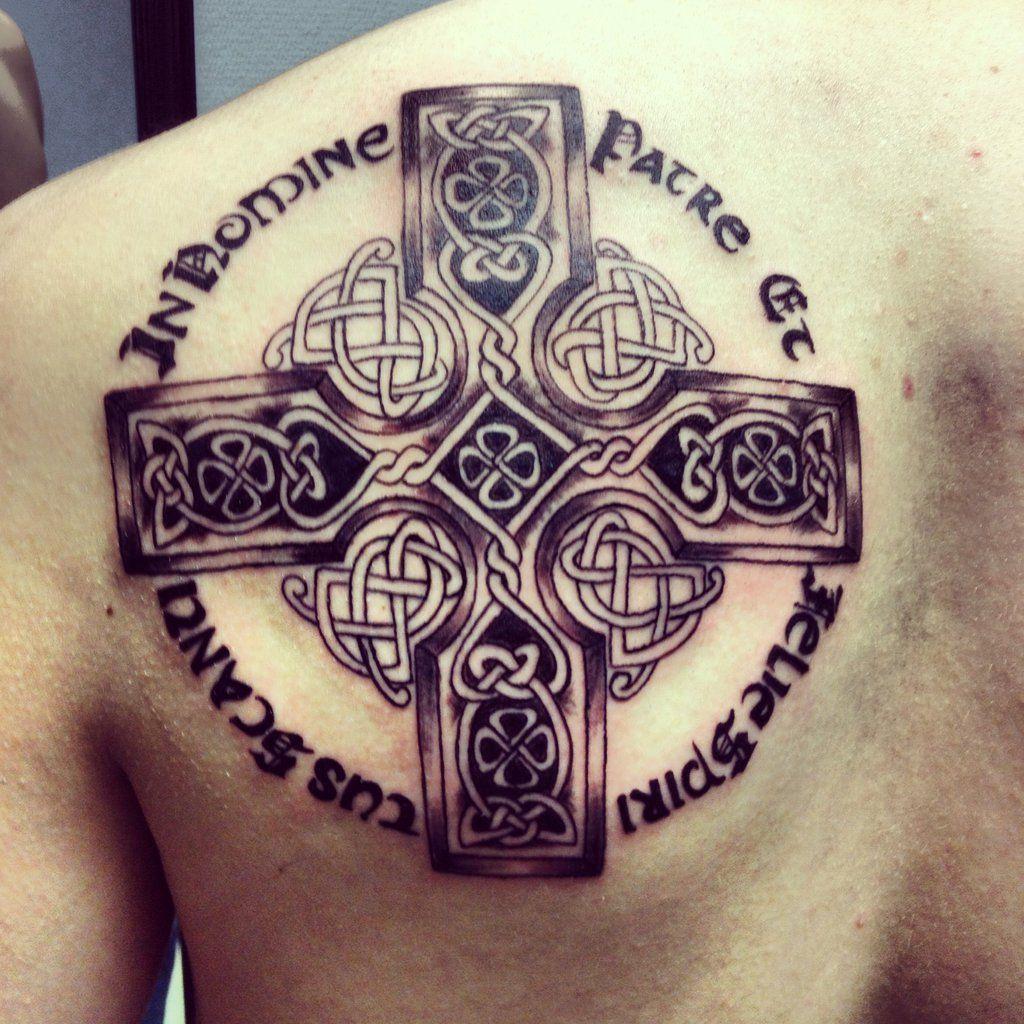 Celtic Cross Boondock Saints Prayer Klockwoodtattoo On intended for proportions 1024 X 1024