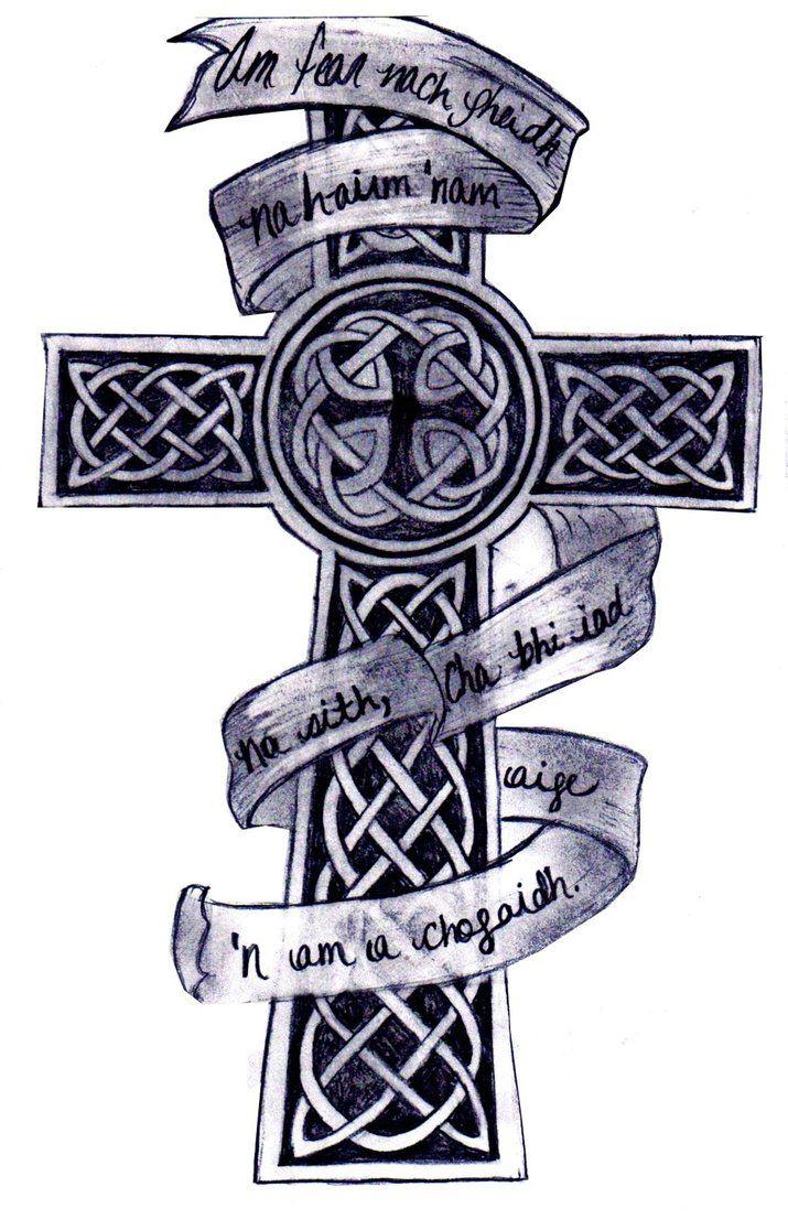 Celtic Cross Clip Art Irish Celtic Cross Tattoo Designs Tattoo regarding measurements 715 X 1116