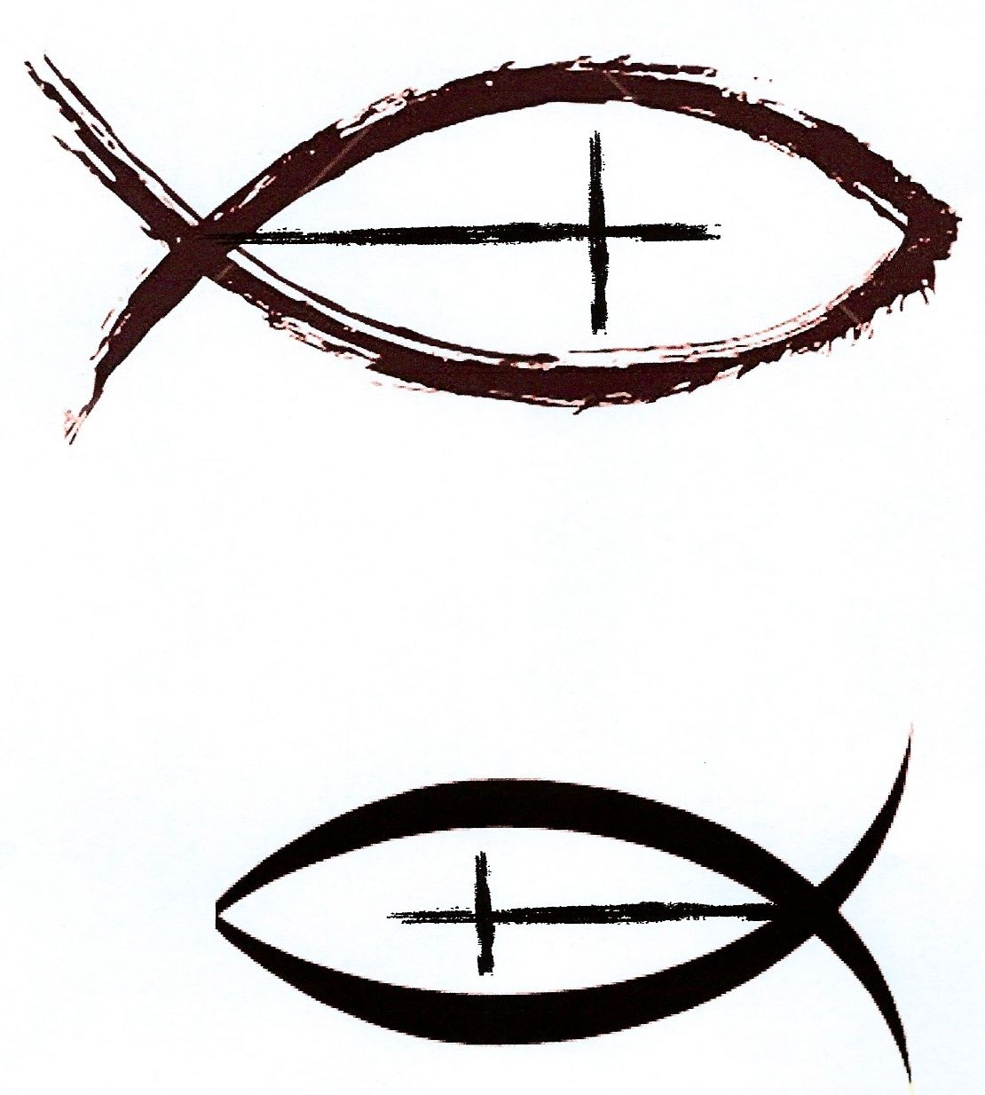 Christian Fish With Cross As A Side Tattoo With Cross Upward I Like pertaining to sizing 1110 X 1234