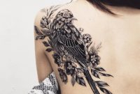 Cool Bw Bird Shoulder Tattoo Idea Bird Tattoos Bird Shoulder with proportions 1080 X 1080