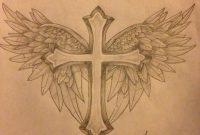 Cross With Wings Tattoo Design Protxticsdeviantart On inside dimensions 900 X 1200