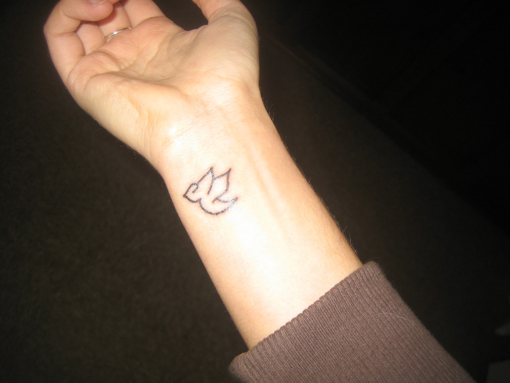 Cute Bird Tattoo On Wrist Tattoo Ideas intended for size 1024 X 768