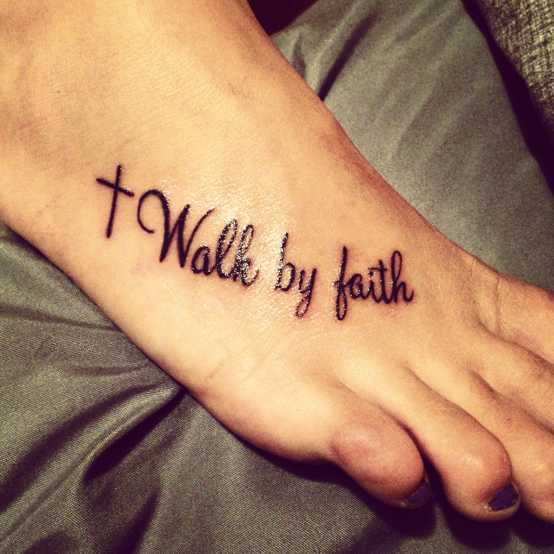 Faith Tattoo Faith Foot Cross Cute Tattoos Tattoos Christian with size 2448 X 2448