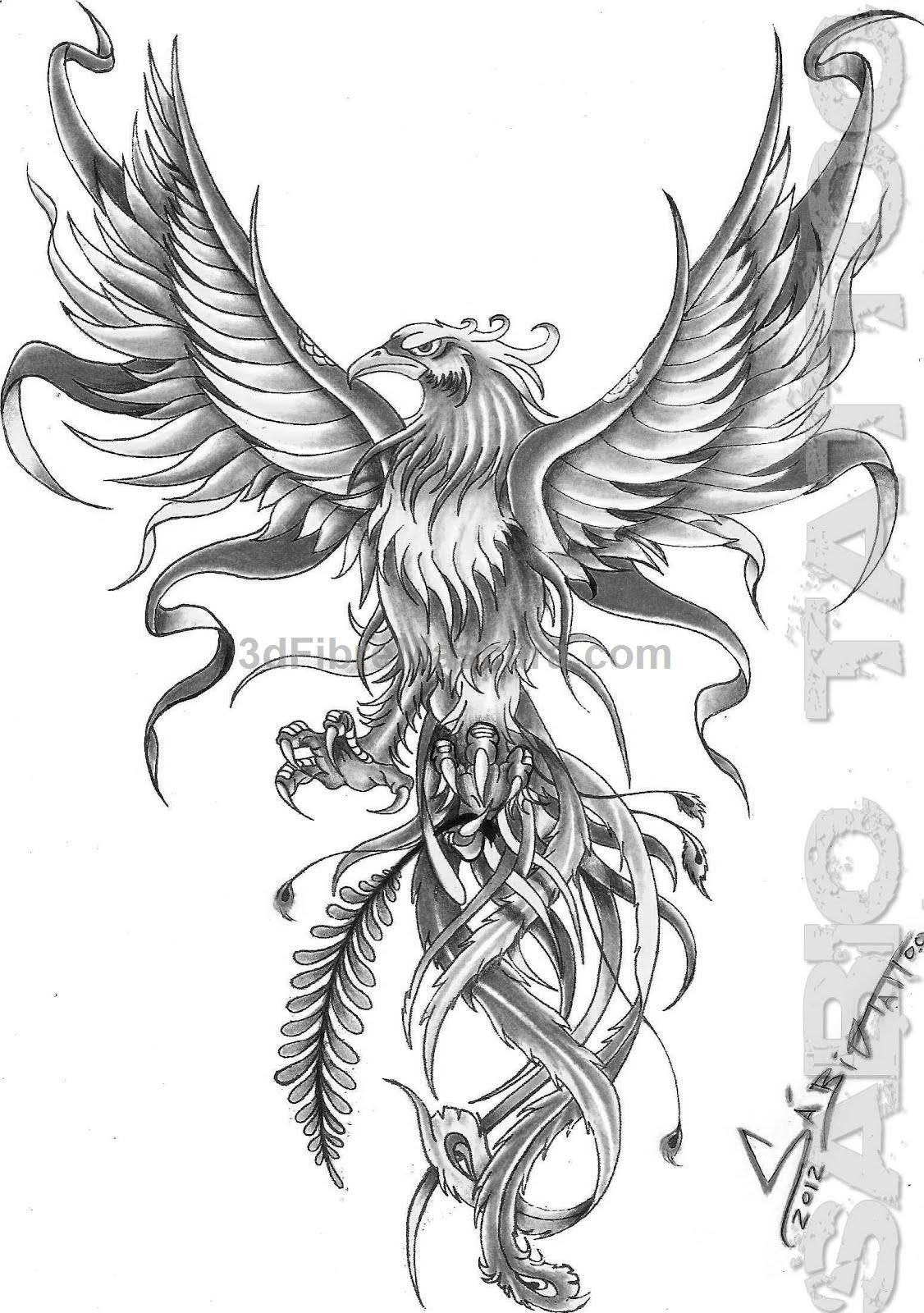 Fenix Ms Unusual Likes Phoenix Tattoo Design Phoenix Bird in measurements 1126 X 1600