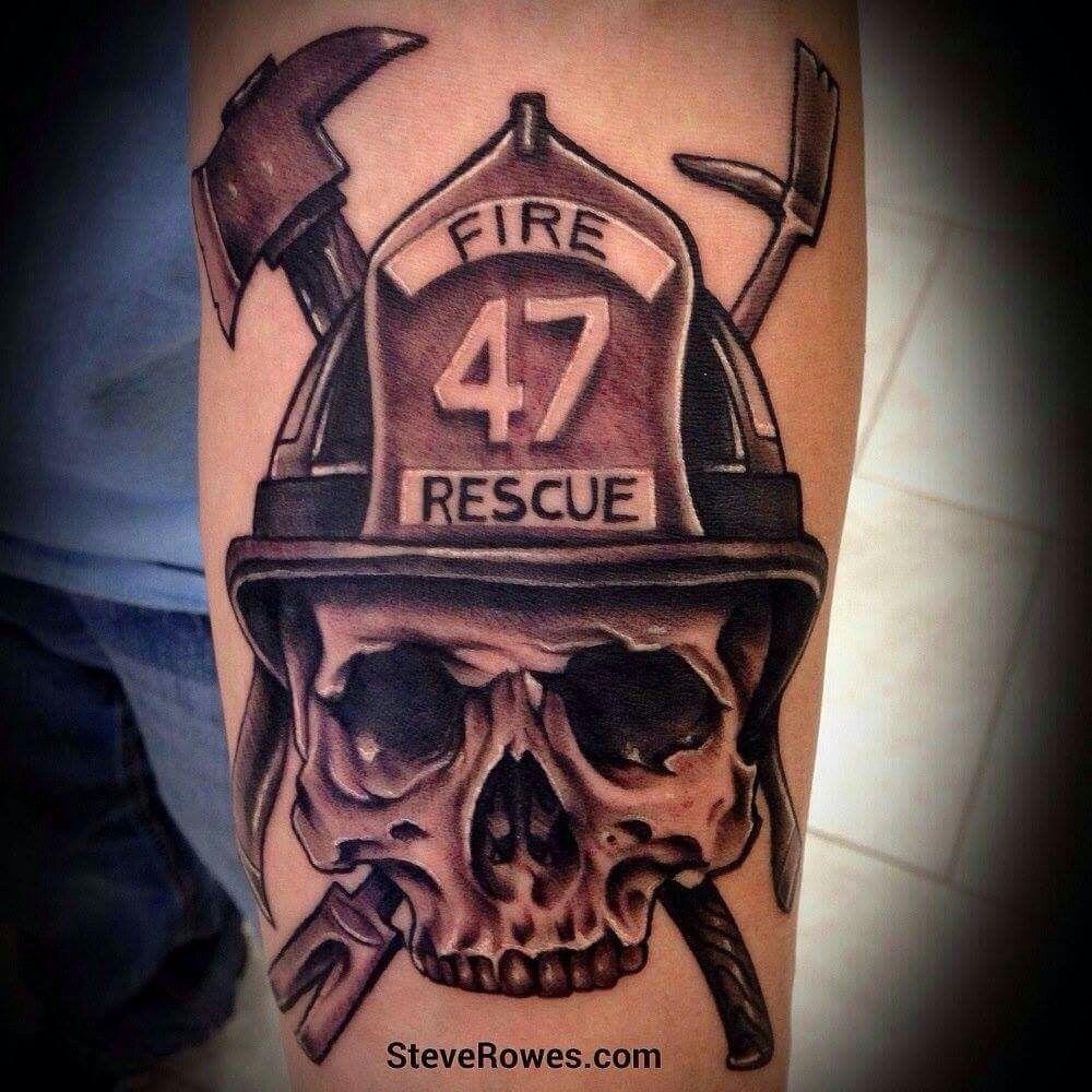 Firefighter Tattoo Tats Tattoos Skull Tattoo Design Fireman Tattoo intended for sizing 1000 X 1000