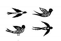 Free Bird Tattoo Designs Crafts Free Bird Tattoo Bird Outline pertaining to dimensions 2550 X 3300
