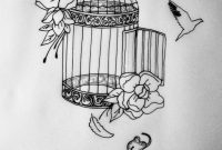 In Progress Cage Tattoo Commission Meaningful Tattoos Cage inside size 1200 X 1600