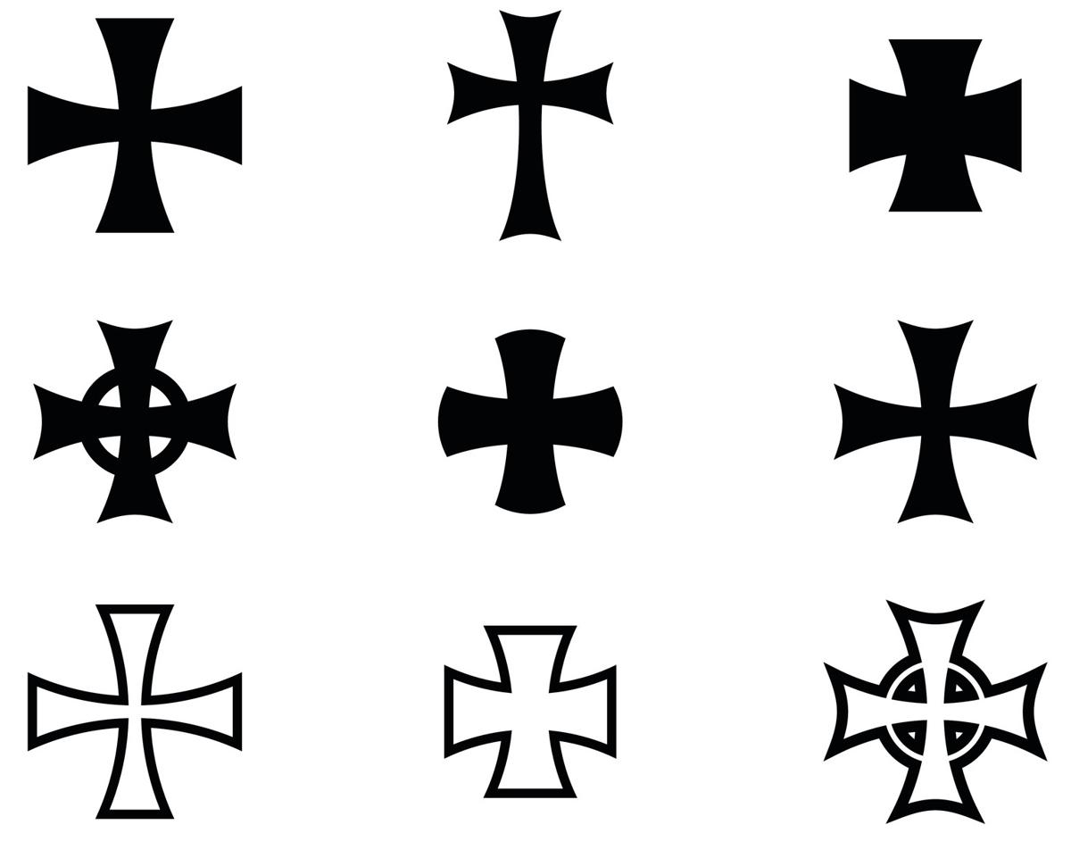 Iron Cross Tattoos intended for sizing 1200 X 952