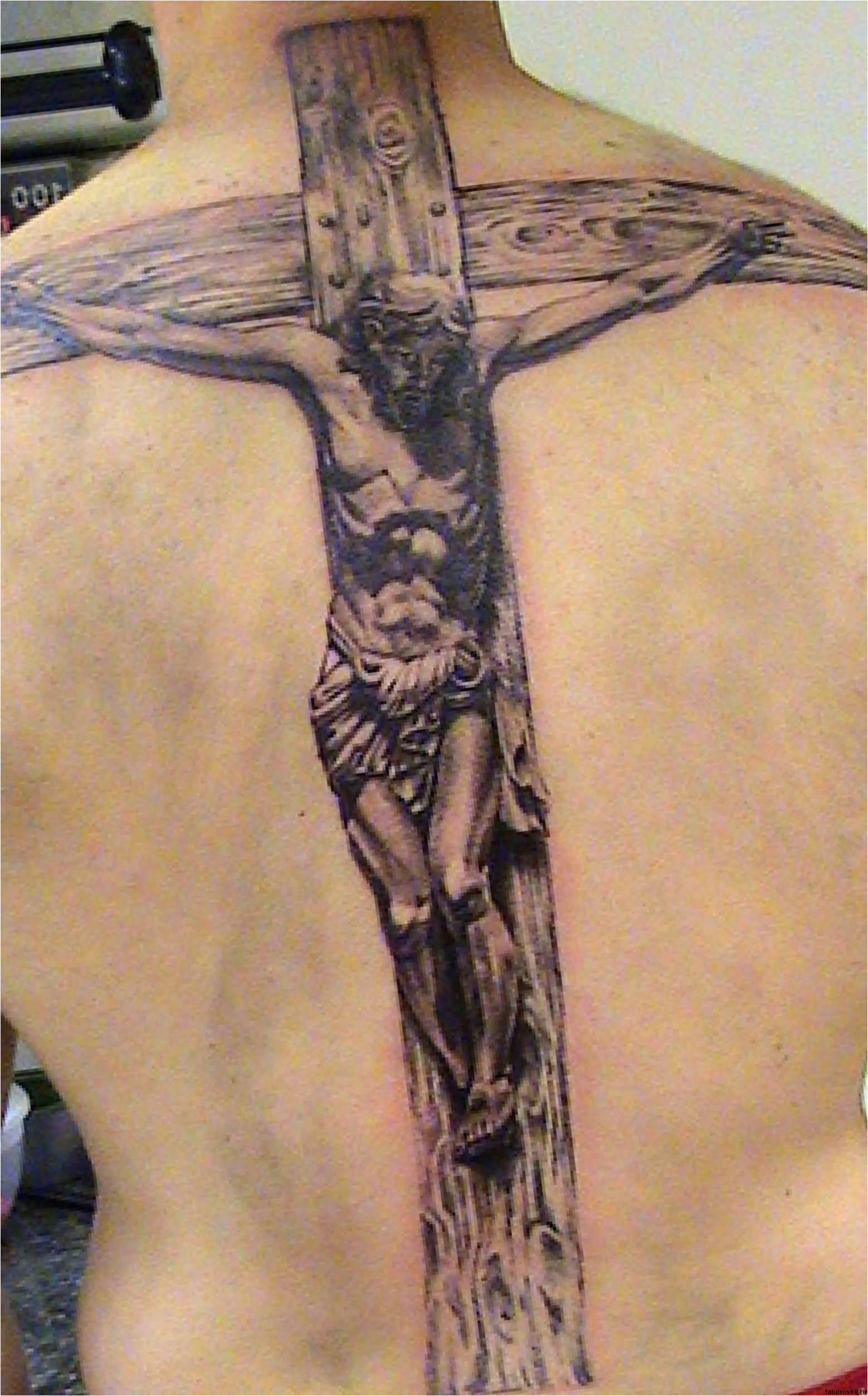 Jesus Christ Cross Tattoos Cross Tattoo Images Designs with size 1558 X 2506