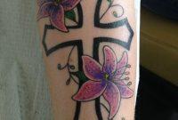 Klunkreligious Cross Cross With Flowers Cross Tattoo Flower within sizing 768 X 1024