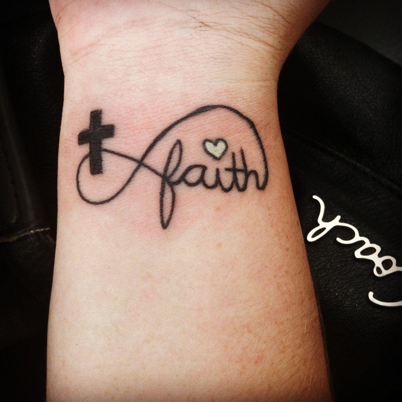 My Infinity Faith Cross Tattoo Tattoos Faith Cross Tattoos inside proportions 1440 X 1440