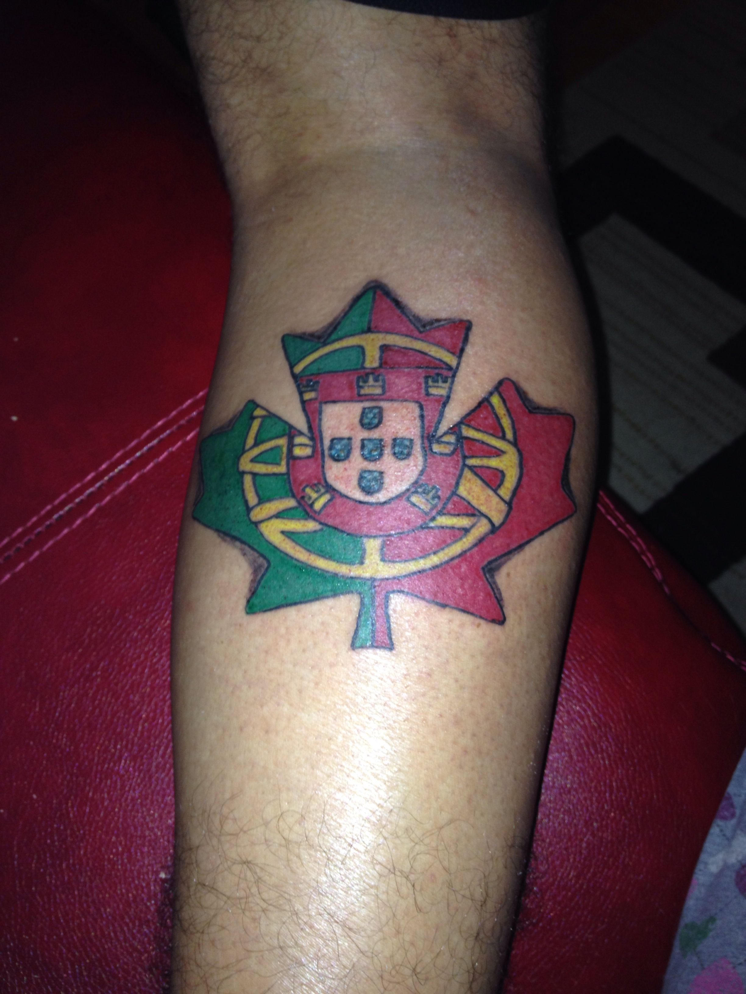 Portugese Canadian Tattoo I Love This Tattoos within proportions 2448 X 3264
