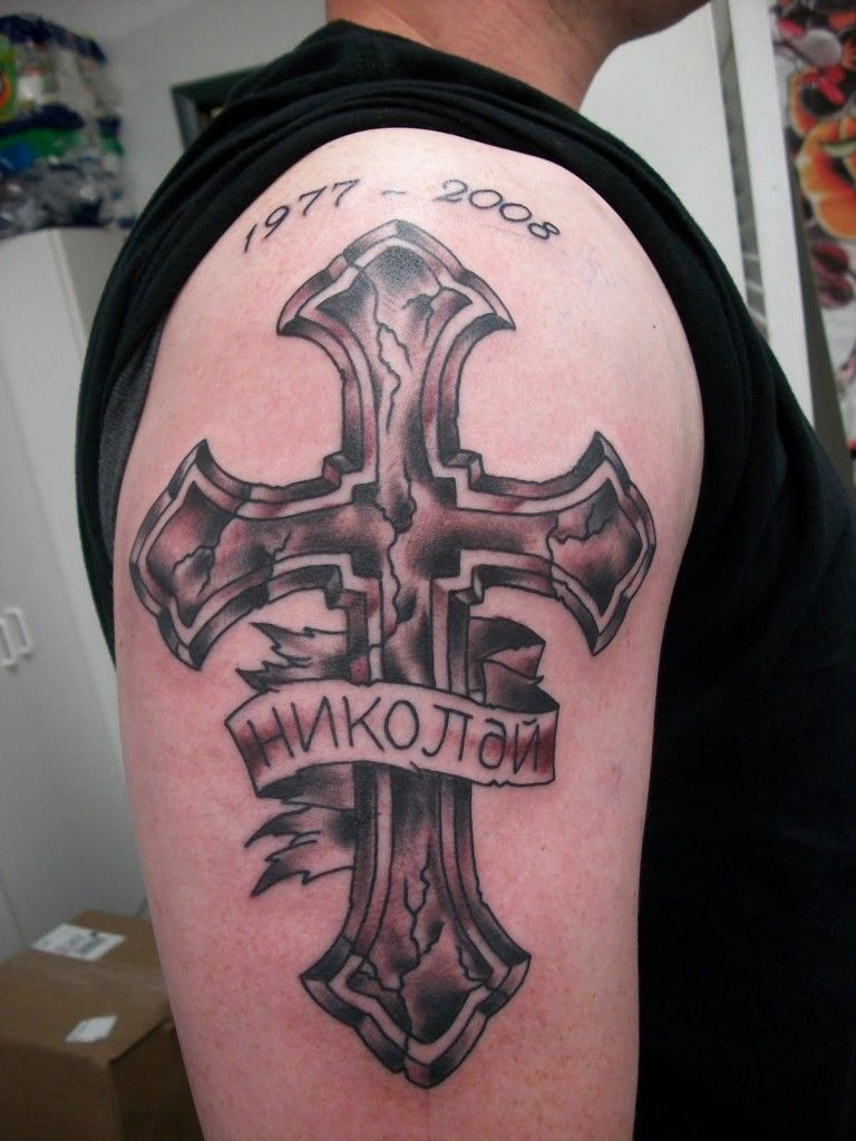 Rip Cross Tattoos For Men Tattoos I Like Cross Tattoo For Men inside measurements 768 X 1024