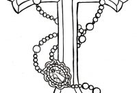 Rosary Cross Tattoo Design Tattoo Cross Tattoo Designs Rosary within proportions 736 X 1278