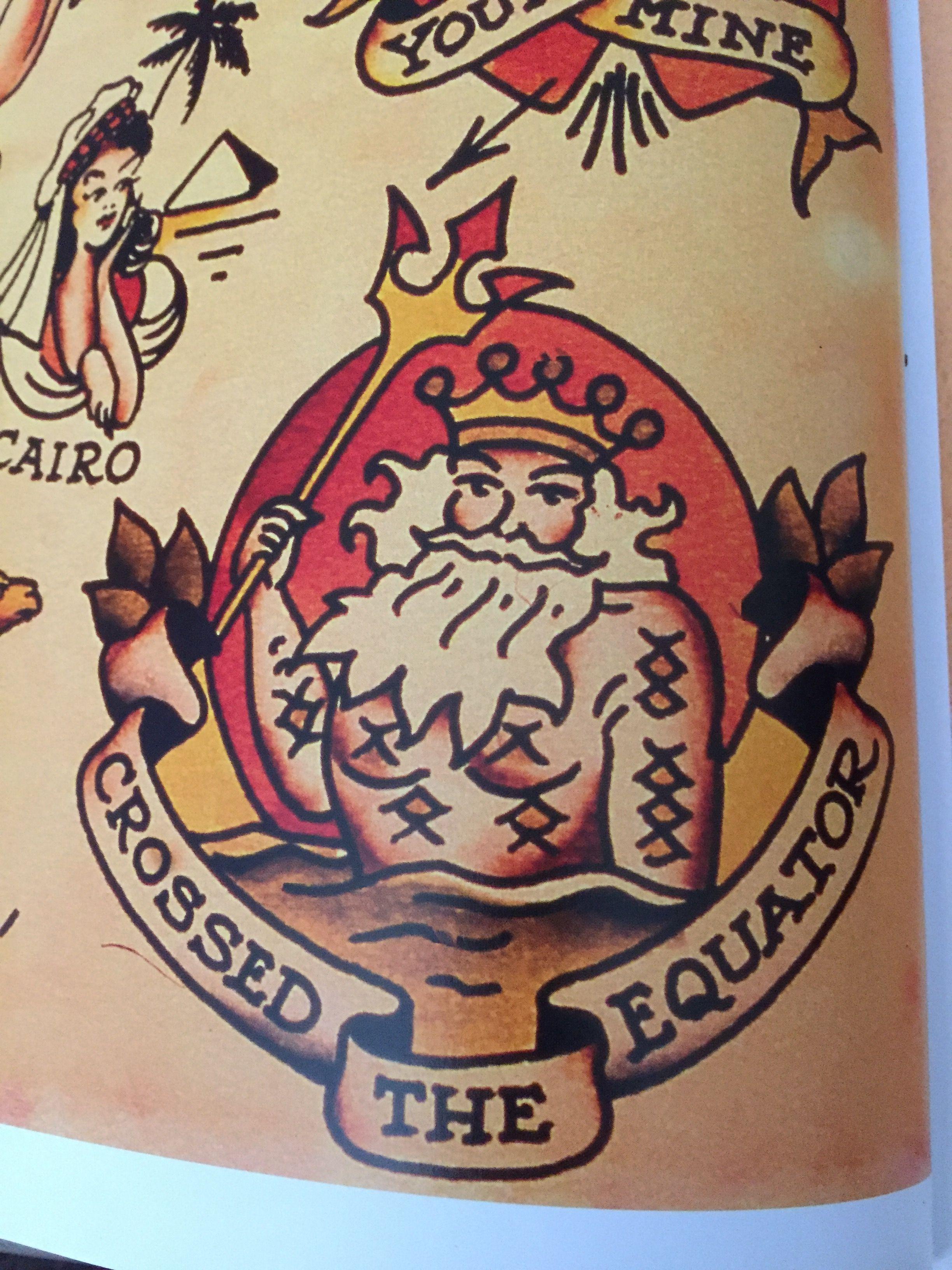 Sailor Jerry King Neptune Equator Tattoo Sailor Jerry Tattoos regarding size 2448 X 3264