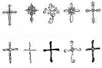 Smallcross Tattoo Small Cross Tattooscross Tattoos Tattoobite intended for proportions 1230 X 1600