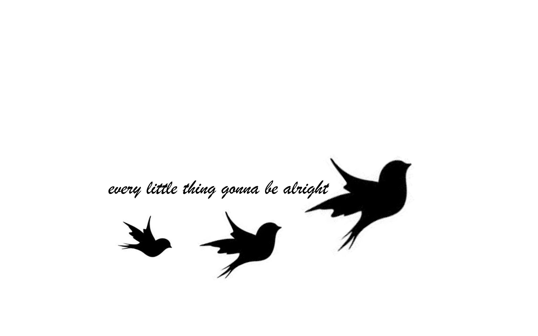 Tattoo Bob Marley Three Little Birds Tats Little Bird Tattoos pertaining to sizing 2880 X 1800