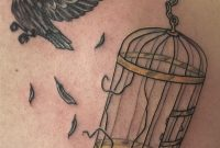 The Idea Of The Bird Breaking Free And The Cage Actually Looking intended for size 1526 X 2012