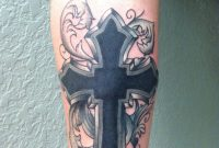 Tribal Cover Up Cross Tattoo Tattoos Binx Celtic Cross in dimensions 1936 X 2592