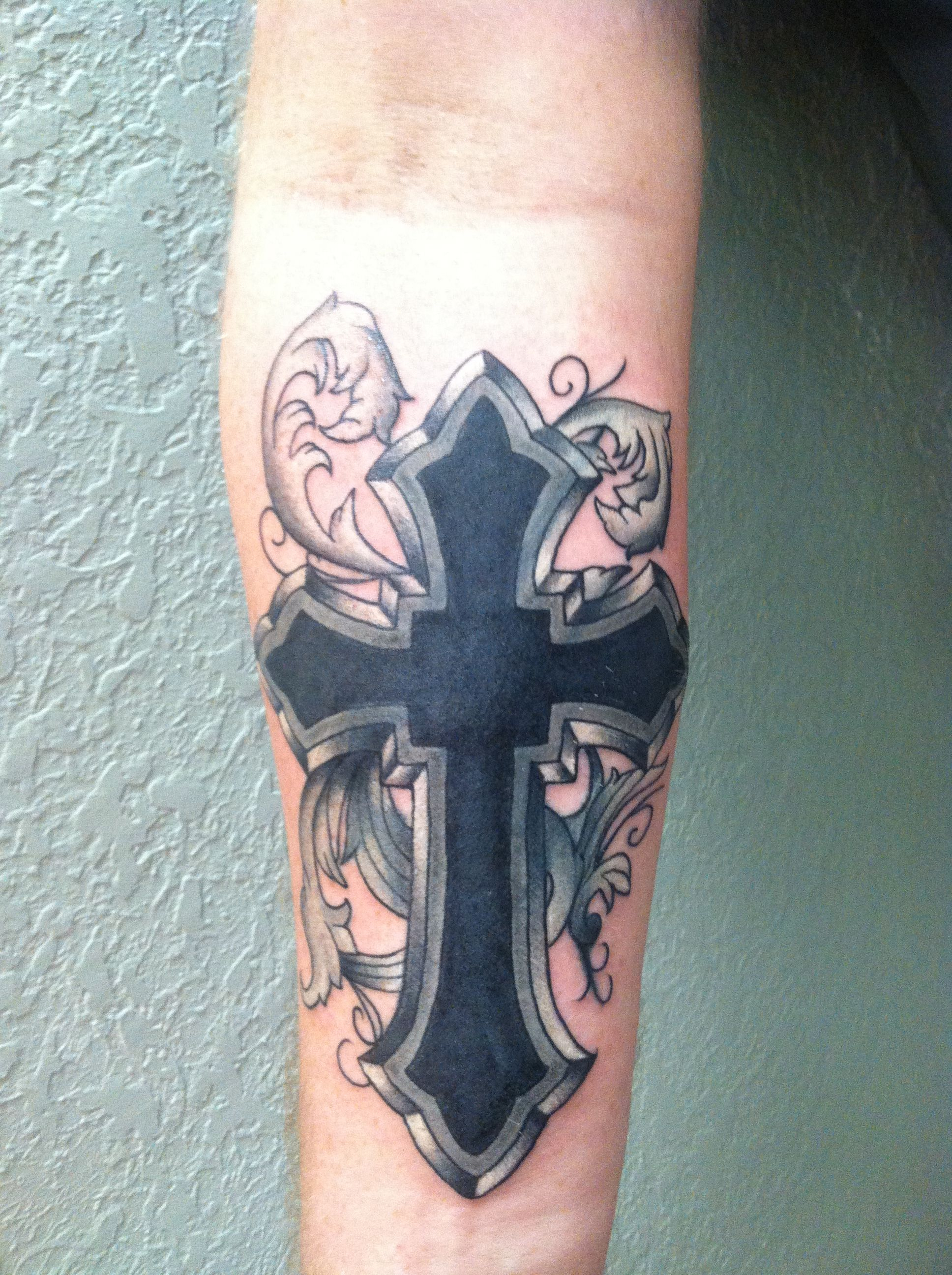 Tribal Cover Up Cross Tattoo Tattoos Binx Celtic Cross intended for size 1936 X 2592