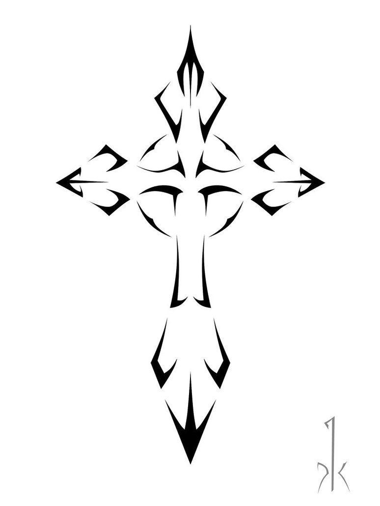 Tribal Cross Tattoo Sample Tattoobite Thingkin Inkin regarding sizing 774 X 1032