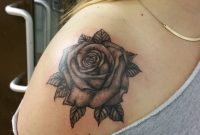 20 Shoulder Rose Tattoo Ideas For You To Try regarding dimensions 1080 X 1080